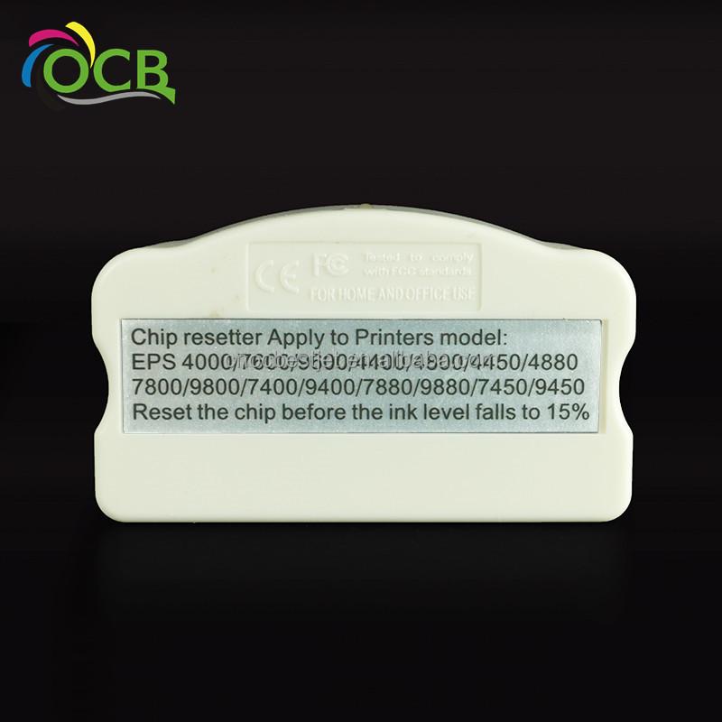 chip reset resetter For Epson Pro 9450 4000 4450 4880 7800 9800 7880 9880 10600