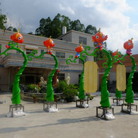 Fiberglass Amusement Park Decoration