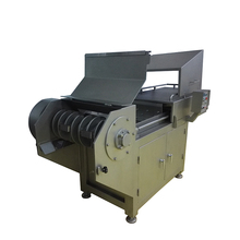 Industrial electric automatic equipment frozen meat slicer