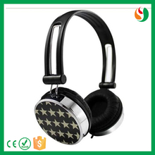 Factory colorful custom logo fashion headphone for girls mobile