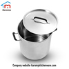 High grade Sanding or polishing large stainless steel commercial cooking pots