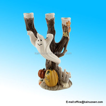 Halloween Harvest Ghost Candle holder