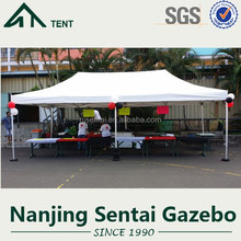 4x8 chinese supplier high quality folding sunshades gazebo tent