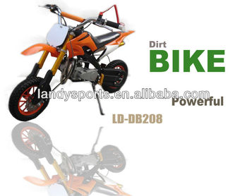 cheap yellow 49cc mini dirt bike,mini kids gas dirt bikes for sale (LD-DB208)