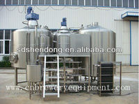 Home brewing equipment, plate heat exchanger
