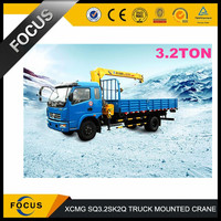 3 ton XCMG truck mounted crane SQ3.2SK2Q popular in Dubai