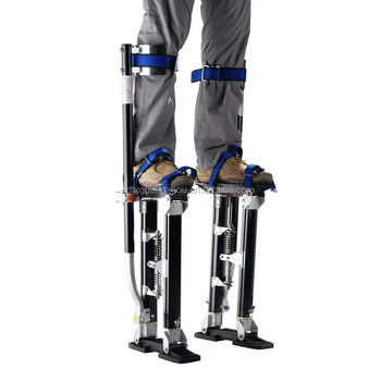 "1153 Black Magnesium Drywall Stilts 24""-40"""
