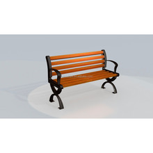 2017 new model Outdoor long bench chair / Long wood chair outdoor furniture / outdoor wooden Patio Benches