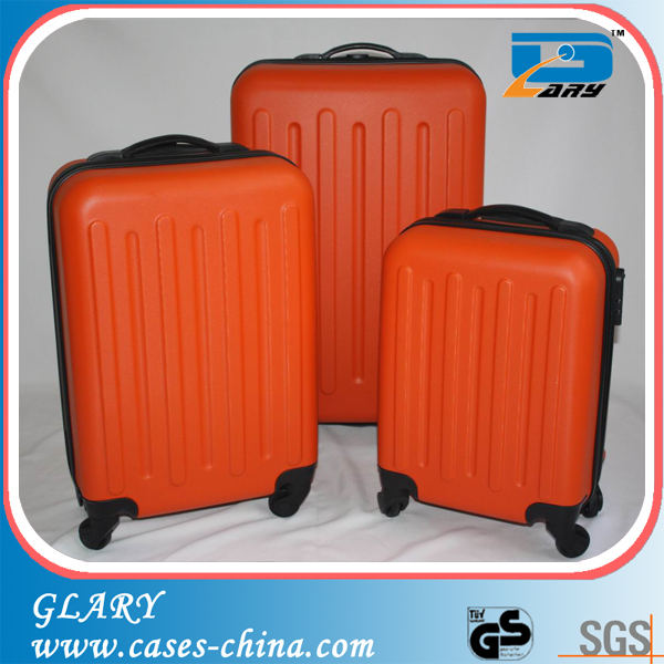 "ABS 3Pc 20""24""28""Hardside fly 4 Spinners Luggage Set"