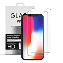 9H Tempered Glass For Iphone X Mobile Screen Protector,Clear Tempered Glass Screen Protector For Iphone x
