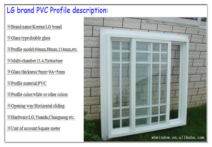 Elegant upvc sliding windows with competitive price upvc for Upvc window designs