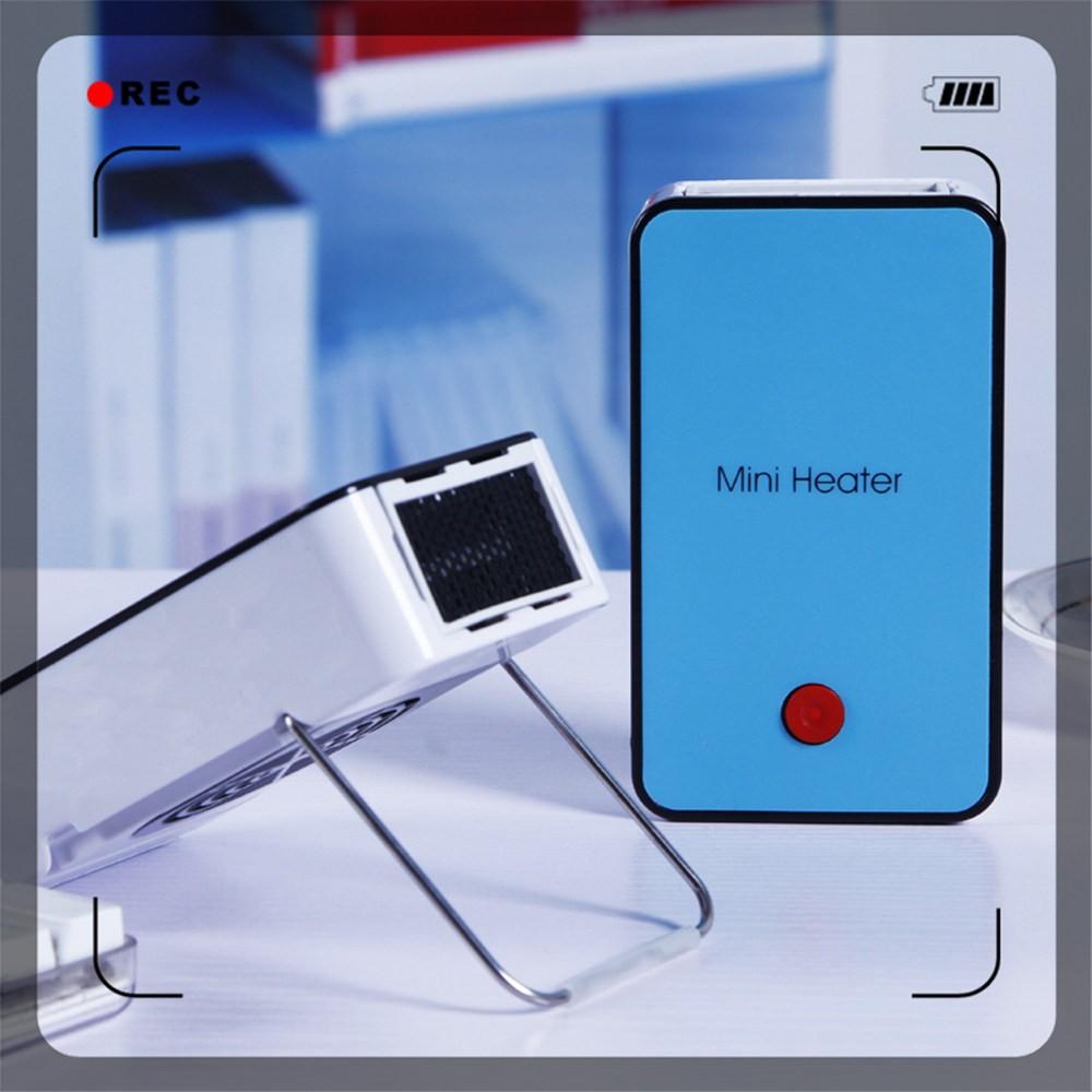 Mini Portable Fan Heater Rechargeable Battery Powered