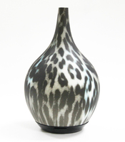 chic leopard pattern ultrasonic essential oils cool aromacare diffuser