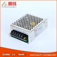 Online wholesale 75w 24V 3A unit mini size din led power supply ac dc converter MS-75-24