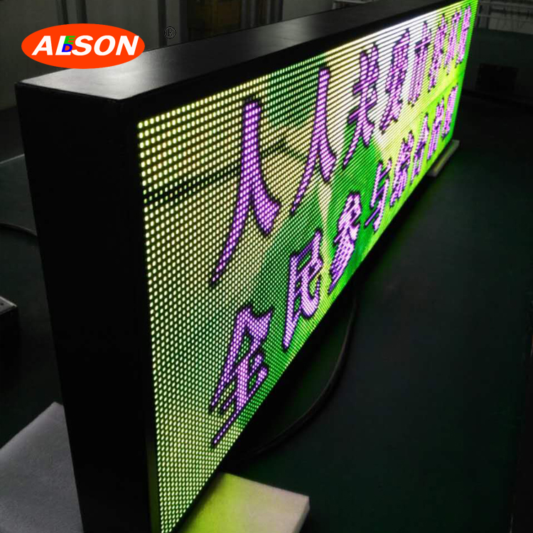 Bus led display P6 outdoor SMD taxi top/roof led screen