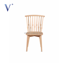 wholesale restaurant furniture design solid wood cafe chair winsor chair