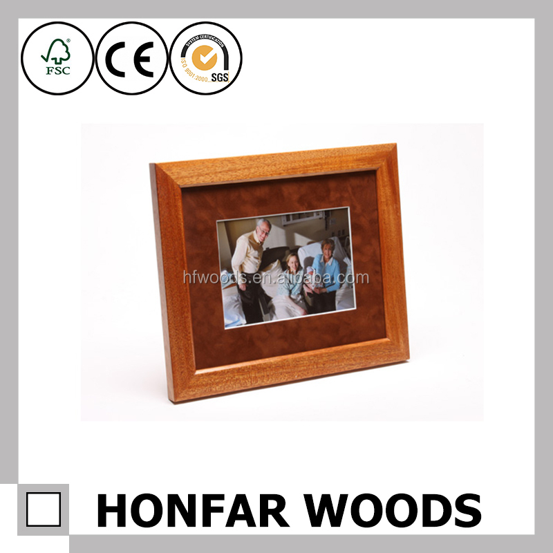 Canada SGS decorative wooden picture photo frame for home decor