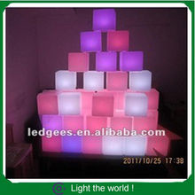 Elegant design waterproof LED light bright multi color furniture for saloon,and Cruise ship party