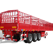 China Good Quality 60 Ton Fence Semi Trailer/Fence Stake Semi Trailer