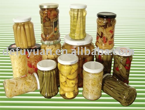 Canned Vegetable Food