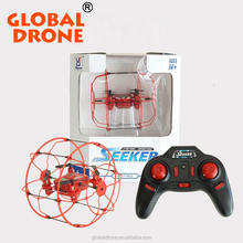 RC Flying Ball Mini Drone Radio Control Climbing Rolling Quadcopter Toys with certificates