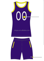 2016 New Design Sublimation custom basketball uniforms for Youth