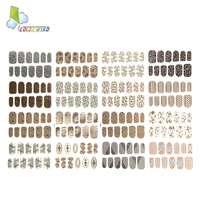 New Style High Quality Material Direct Factory Price Special Design Lovely Paper Nail Sticker For Kids