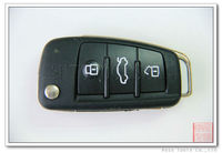 Auto Key for Audi 3 Button 433 MHz 8P0 837 220 D AK008024