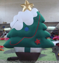 2014 mini inflatable christmas tree decoration