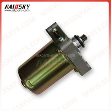 HAISSKY HAIOSKY motorcycle parts spare Motorcycle Engine Starting Motor for GY6125 12v starter motor