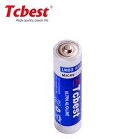1.5V 140mins AAA LR03 Alkaline Battery Tcbest Brand for battery operated toy cat