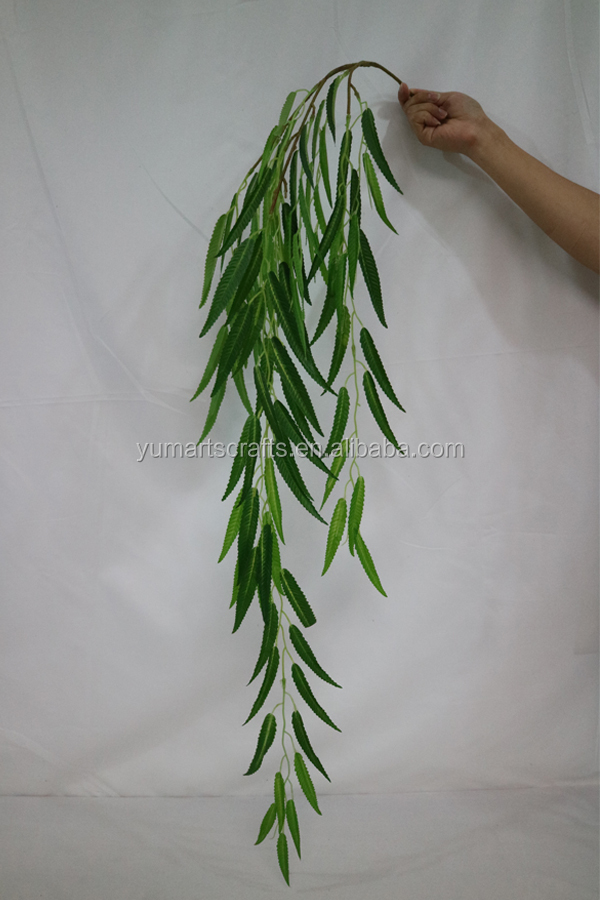 Artificial willow branch plastic willow branch wholesale