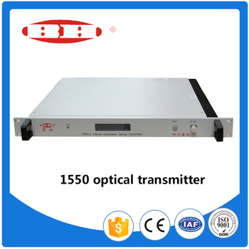Best Price 1550nm AGC CATV Fiber Optical Transmitter