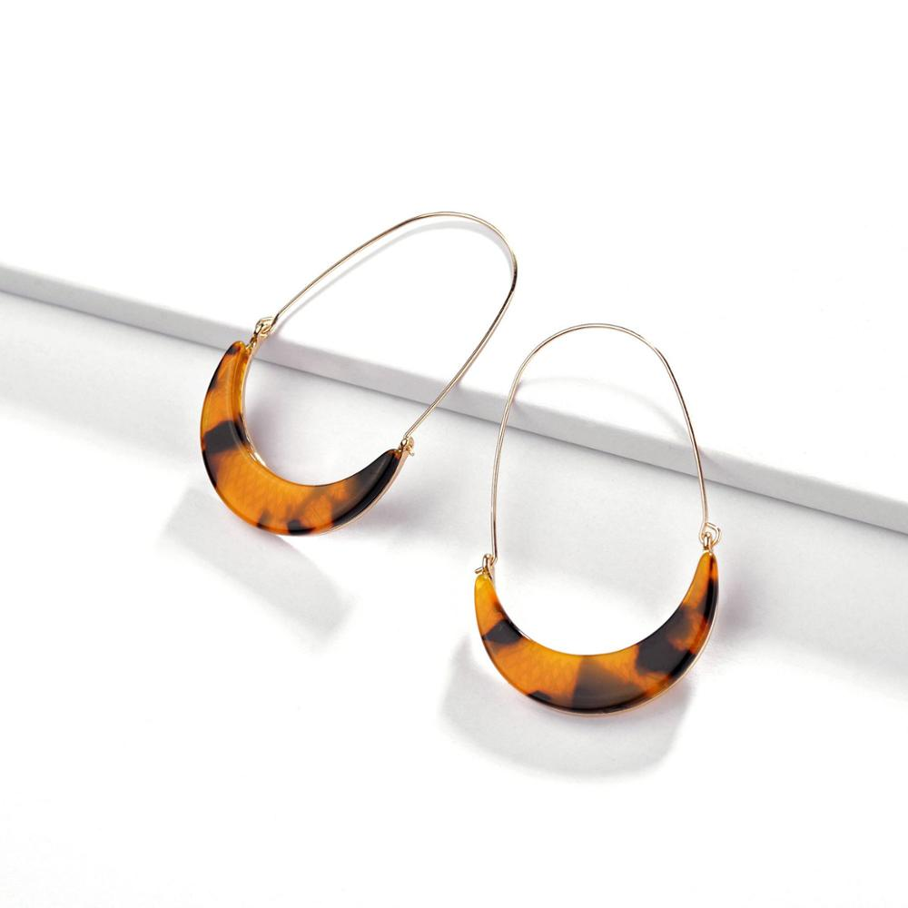 New collections leopard print earrings, seashell acrylic earrings, tortoise shell <strong>jewelry</strong>