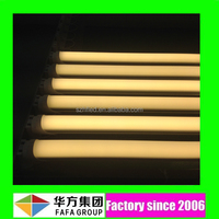 120lm/w high lumen SMD2835 led yellow tube com
