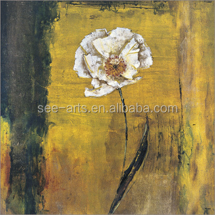 Modern Florals Oil Painting Designs Artwork