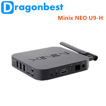 Factory wholesale Minix NEO U9-H S912 2G 16G Intel X5-Z8300 quad core With the Best Quality Android 6.0 TV Box