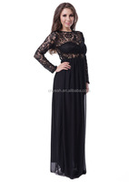 Best selling fashion sexy arabic evening dress long sleeve