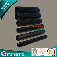 China manufacture Astm A53 Erw Fluid Steel Pipe
