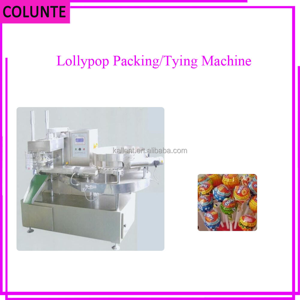 Henan Colunte New professional automatic depositing lollipop sealing machine