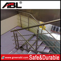stainless steel tubular handrail for staircase balustrade