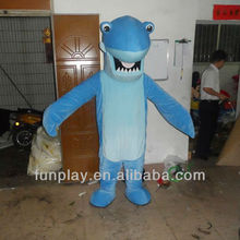 HI EN71 Hot sale Bule costume Shark party mascot