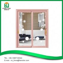 Modern interior aluminum double french doors for commercial