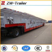 heavy duty vehicle / car carrier semi trailer (skeleton / close-ended / semi - enclosed type optional)