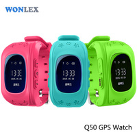 China Manufacturer Wholesale Wonlex OLED Display Long Life Battery Q50 Kids GPS avatar et1 watch mobile phone