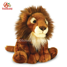 CE Certification China OEM 2 inch Small Roaring Lions Animals Mini Stuffed animal Plush Lion Toy For Sale