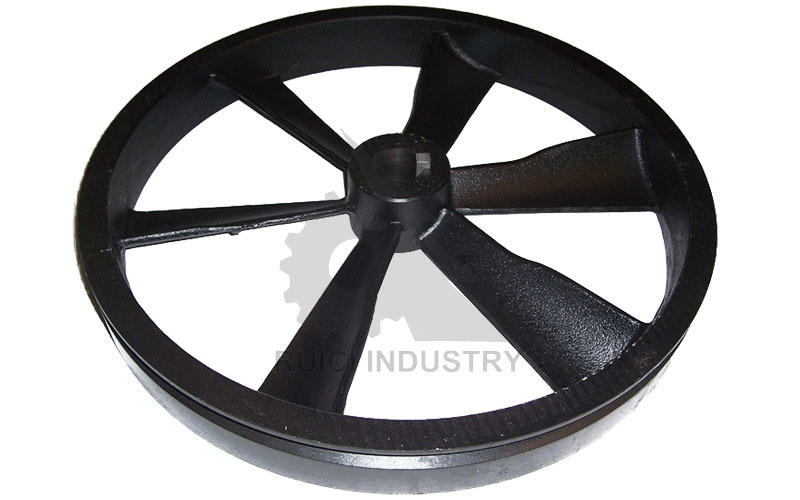 Custom small electric pulley v pulleys for electric motors for Small electric motor pulleys