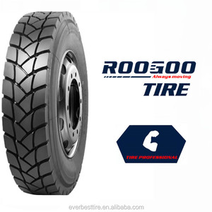 China Top Brand ROOGOO Truck Tires Manufacture Radial Tyres High Quality 385 65 22.5 295/80r22.5 11r22.5 13r22.5