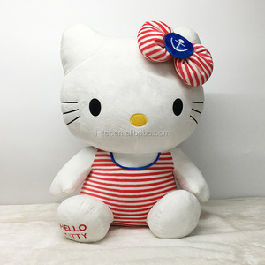 Newest hello kitty toys plush animal soft toy made in china