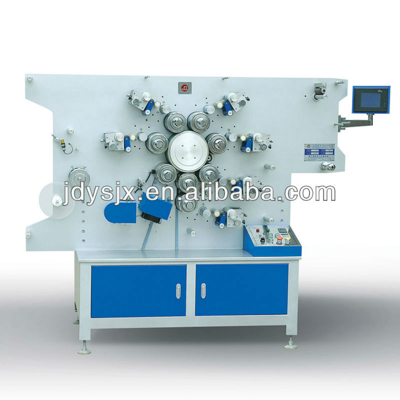 Rotary Belt Printer / Numerical Control Double-side High-speed Rotary Label Printing Machine JS-1042